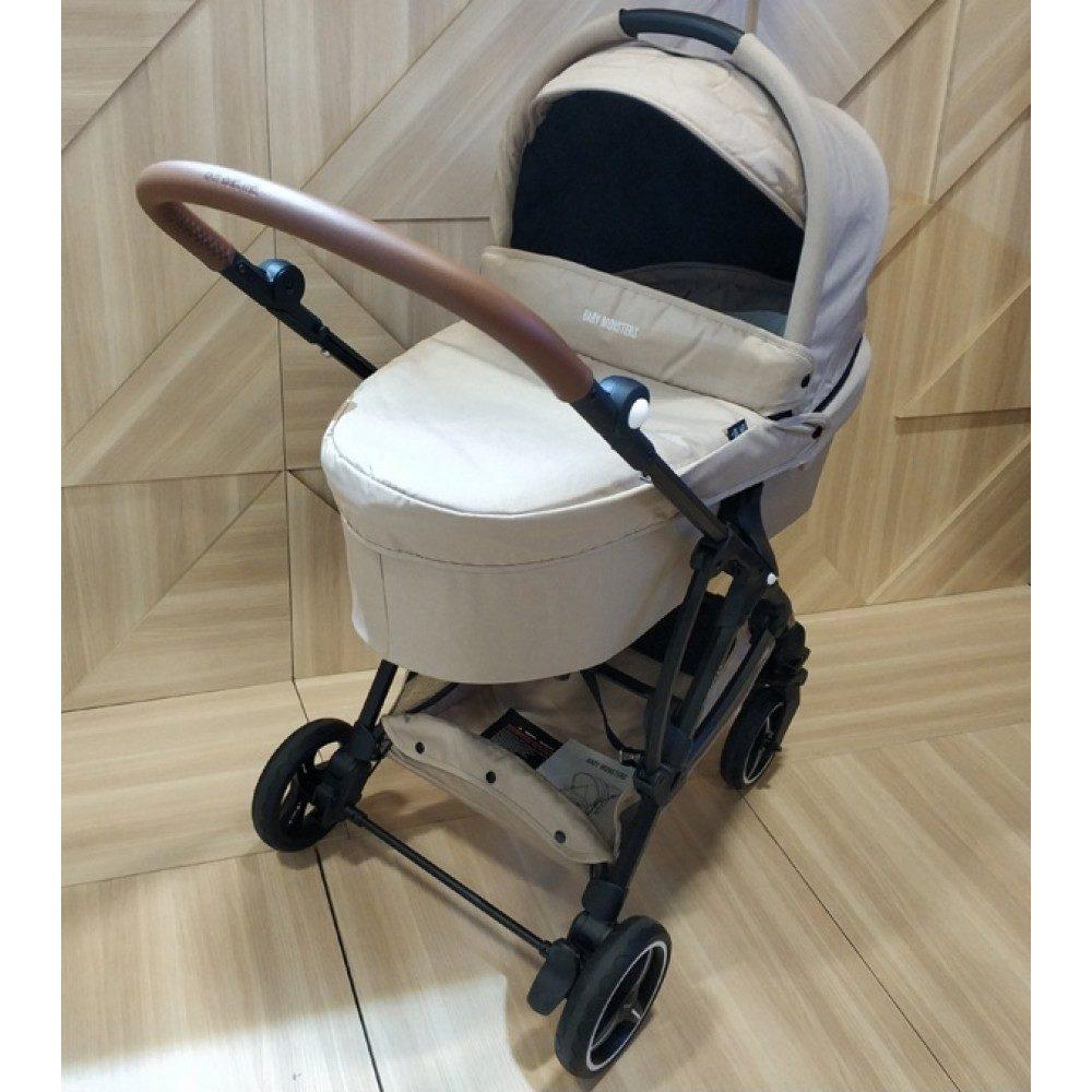 Детская коляска Baby Monsters Compact 3 в 1 (бежевый)