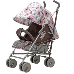 Детская коляска-трость Rant Molly Alu, 2017 (Белый/розовый)