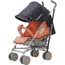 Детская коляска-трость Rant Molly Alu, 2017 (Черный/оранжевый)