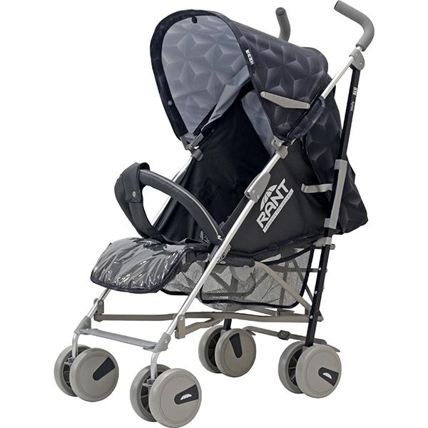 Детская коляска-трость Rant Molly Alu, 2017 (Черный)