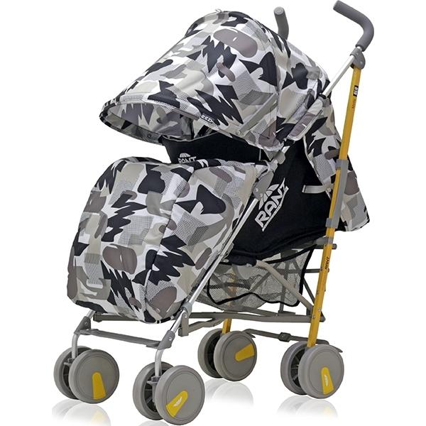 Детская коляска-трость Rant Molly Alu (Серый/черный)