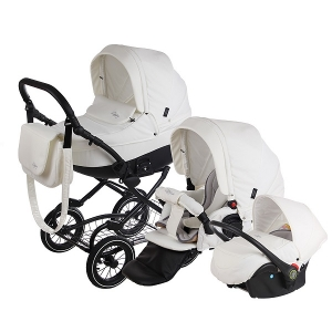 Детская коляска Tutis Zippy New Classic 3 в 1 (Белый)