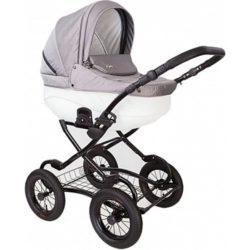 Детская коляска Tutis Zippy New Classic 2 в 1 (Серый/белый)