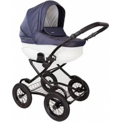 Детская коляска Tutis Zippy New Classic 3 в 1 (Синий/белый)