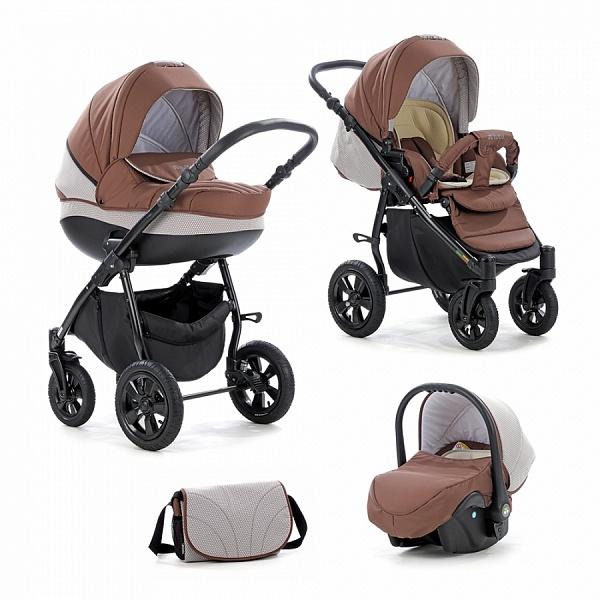Детская коляска Tutis Zippy Tapu 3 в 1 (Коричневый)