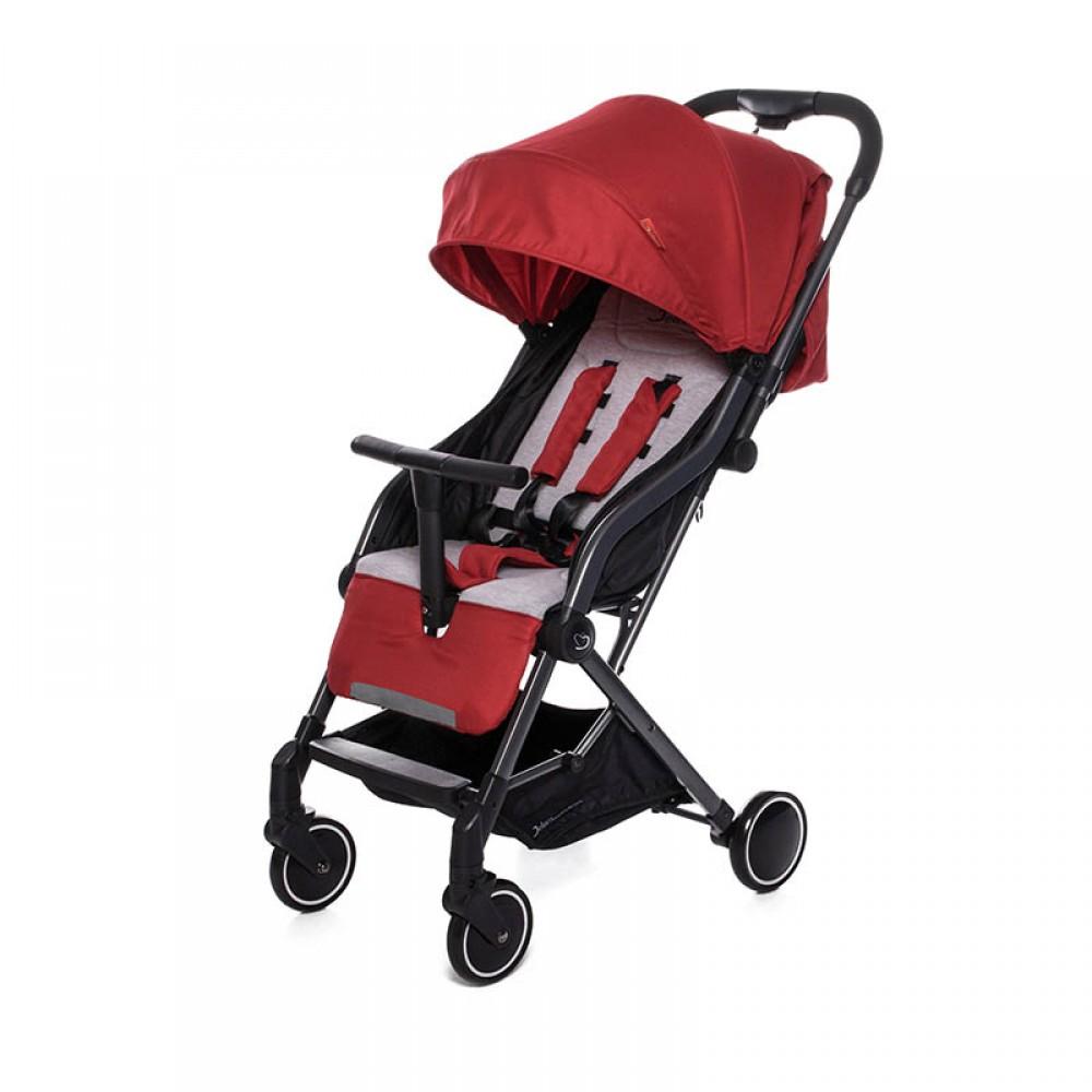 Прогулочная коляска Jetem Compy (красный)