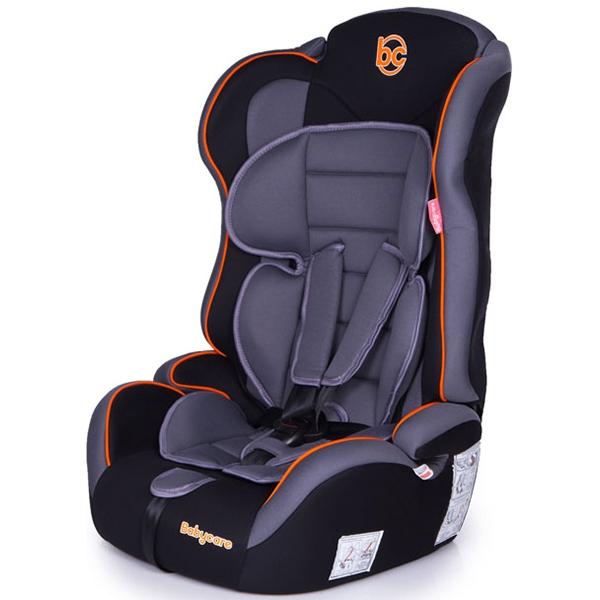 Детское автокресло Baby Care Upiter Plus (Черный/серый)