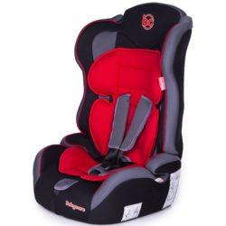 Детское автокресло Baby Care Upiter Plus (Красный)