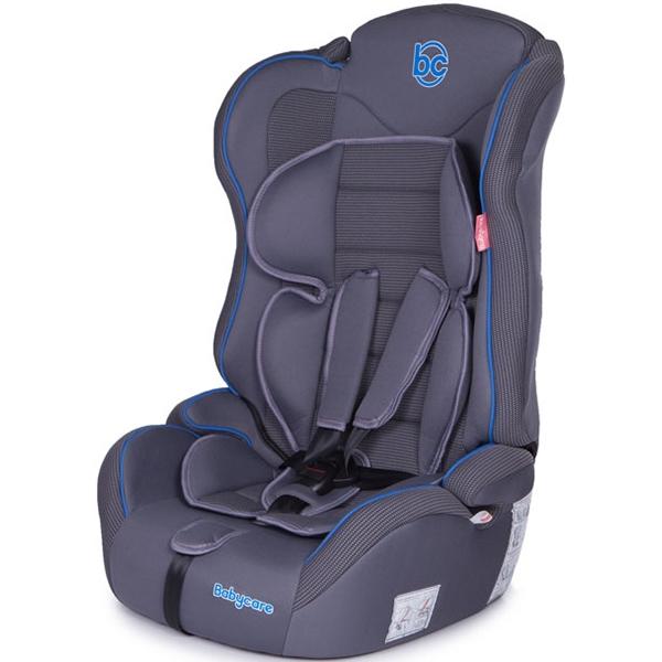 Детское автокресло Baby Care Upiter Plus (Серый)
