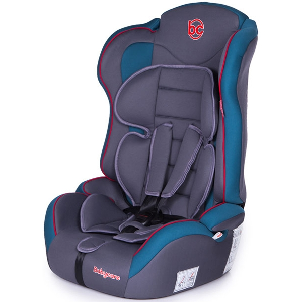 Детское автокресло Baby Care Upiter Plus (Серый/голубой)