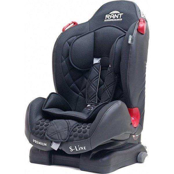 Детское автокресло Rant S-Line Premium isofix (Черный)