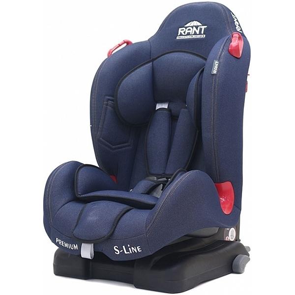 Детское автокресло Rant S-Line Premium isofix (Синий)