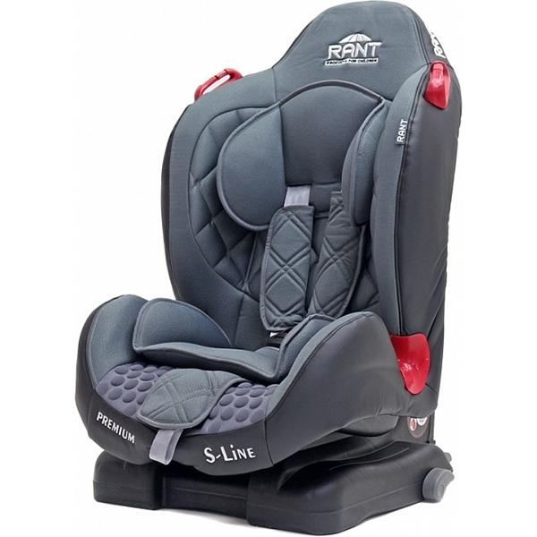 Детское автокресло Rant S-Line Premium isofix (Светло-серый)