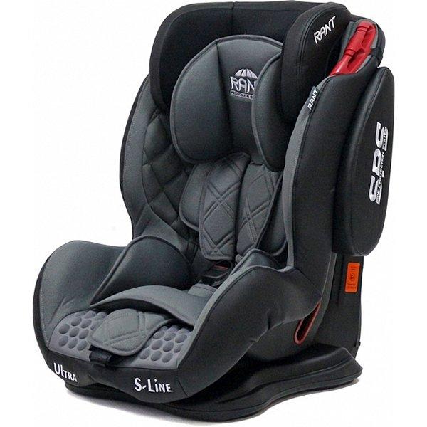 Детское автокресло Rant S-Line Ultra SPS (Серый/черный)