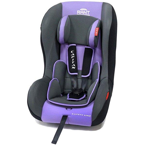 Детское автокресло Rant Safety Line Capitan (Чёрный/фиолетовый)