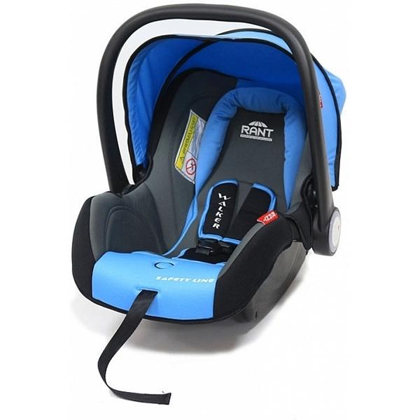 Детское автокресло Rant Safety Line Walker (Черный/голубой)