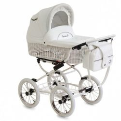 Детская коляска Reindeer Prestige Wiklina 3 в 1 (белый)