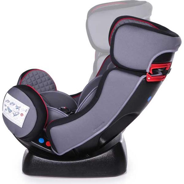 Автокресло Baby Care Nika (черный/серый)