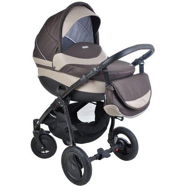 Детская коляска Tutis Galant 3 в 1 (серый/бежевый)