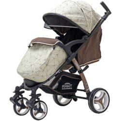 Детская прогулочная коляска Rant Cosmic Alu (Бежевый)