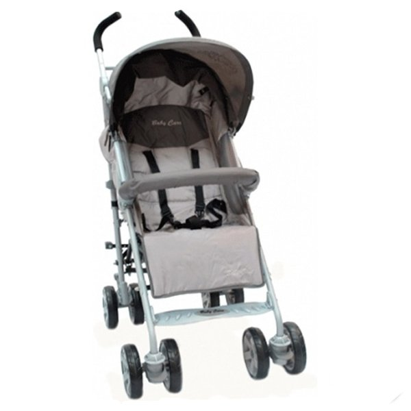 Коляска-трость Baby Care Polo 107 (светло-серый)