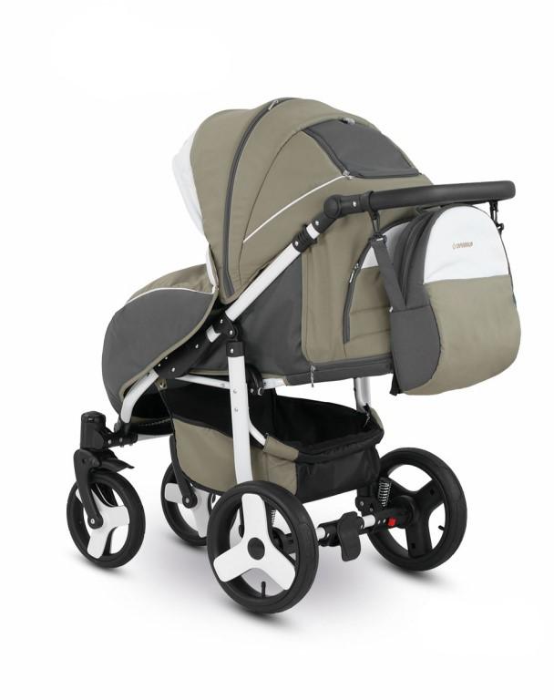 Прогулочная коляска Camarelo ELF (коричневый)