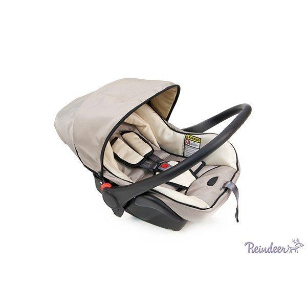 Детская коляска Reindeer Style 3 в 1 с конвертом (бежевый)