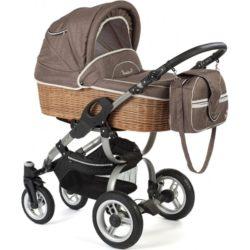 Детская коляска Reindeer City Wiklina Eco-line 3 в 1 (Коричневый)