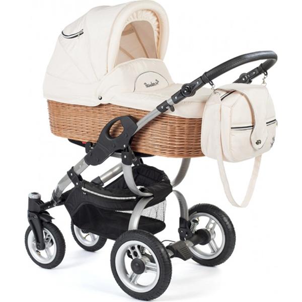 Детская коляска Reindeer City Eco-Line 3 в 1 (Бежевый)
