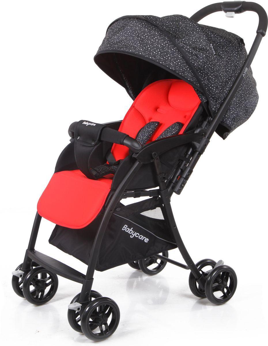 Прогулочная коляска Baby Care Sky (красный/книжка)