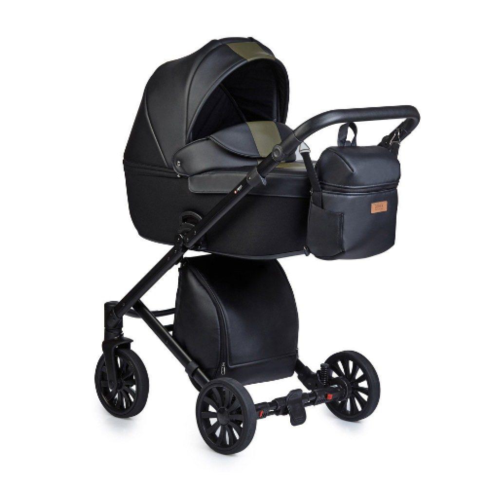 Детская коляска Anex Cross 3 в 1 (Черный)