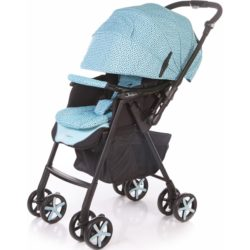 Прогулочная коляска Jetem Graphite, с рождения (Голубой)