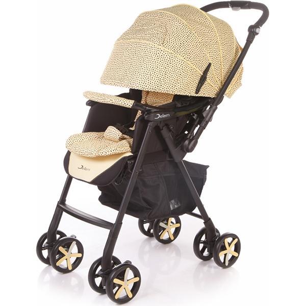 Прогулочная коляска Jetem Graphite, с рождения (Жёлтый)