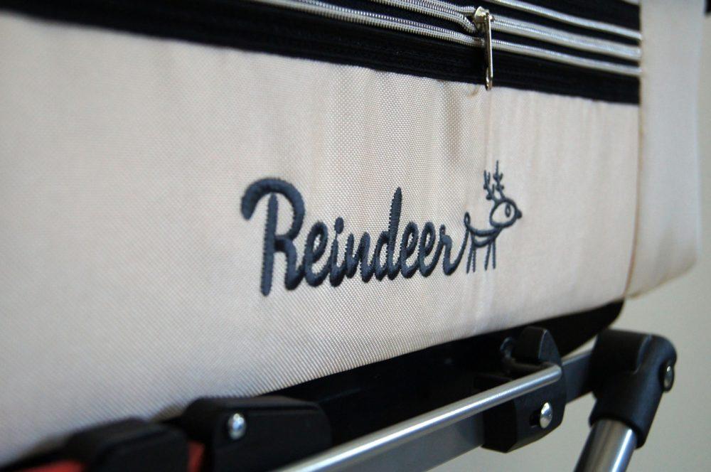 Детская коляска Reindeer Style 2 в 1 с конвертом (кремовый)