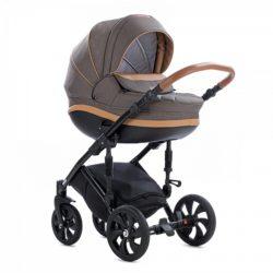 Детская коляска Tutis Mimi Style 2 в 1 New 2018 №324 (Тёмный коричневый)