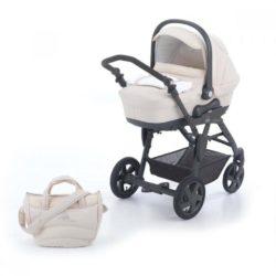 Детская коляска CAM Dinamico Fashion 3 в 1 (бежевый)