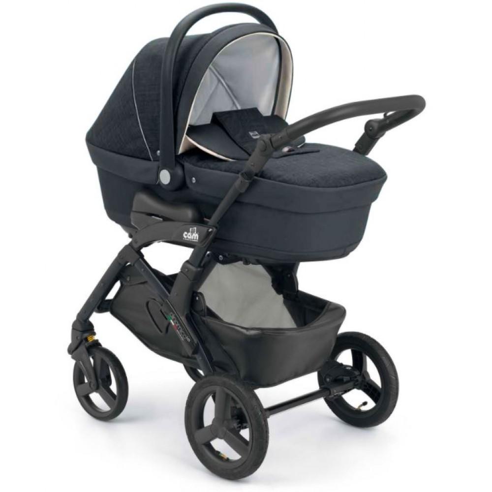 Детская коляска CAM Dinamico up Easy 2 в 1 (черный)