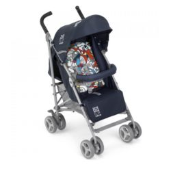 Детская коляска Cam Flip трость (синий)