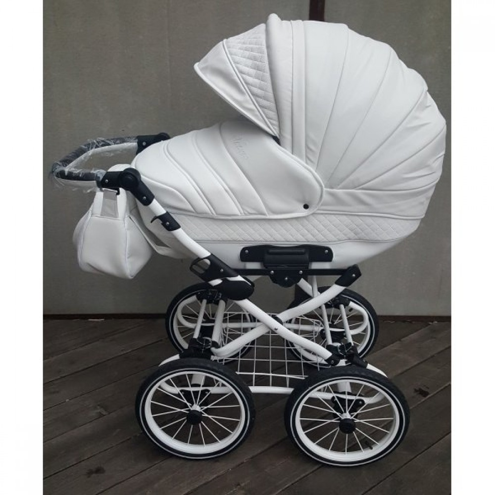 Детская коляска Esperanza Victoria Classic 2 в 1 (белый)