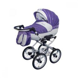Детская коляска Esperanza Victoria Classic 2 в 1 (фиолетовый)