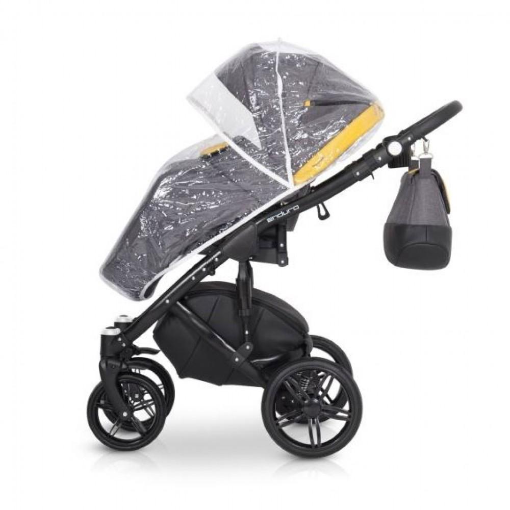 Детская коляска Expander Enduro 3в1 (серо-жёлтый)