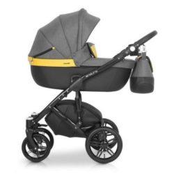 Детская коляска Expander Enduro 2в1 (серо-жёлтый)