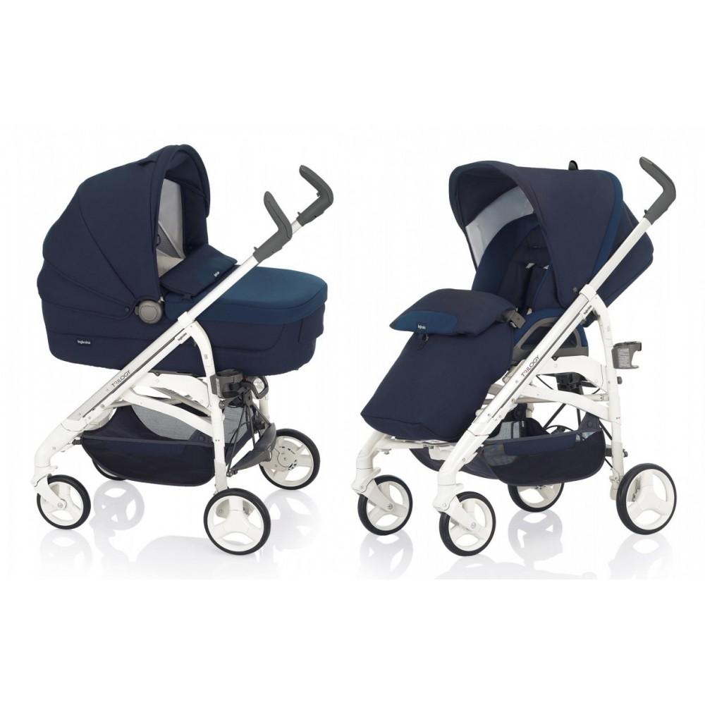 Детская коляска Inglesina Trilogy System 2 в 1 (синий)