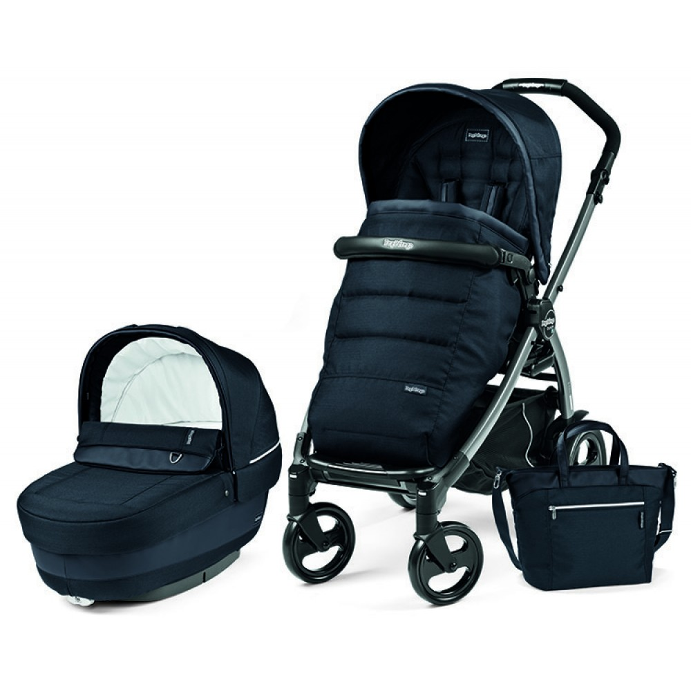 Детская коляска Peg-Perego Book 51 S Elite Modular 3 в 1 (Тёмно-синий)
