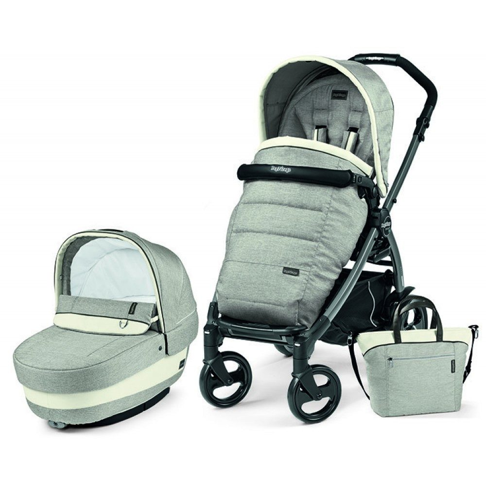 Детская коляска Peg-Perego Book 51 S Elite Modular 3 в 1 (Серый)