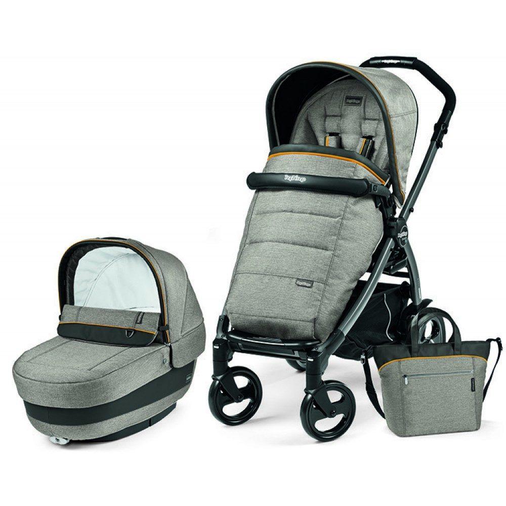 Детская коляска Peg-Perego Book 51 S Elite Modular 3 в 1 (Тёмно- серый)