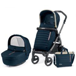 Детская коляска Peg-Perego Book 51 S Elite Modular 3 в 1 (Синий)