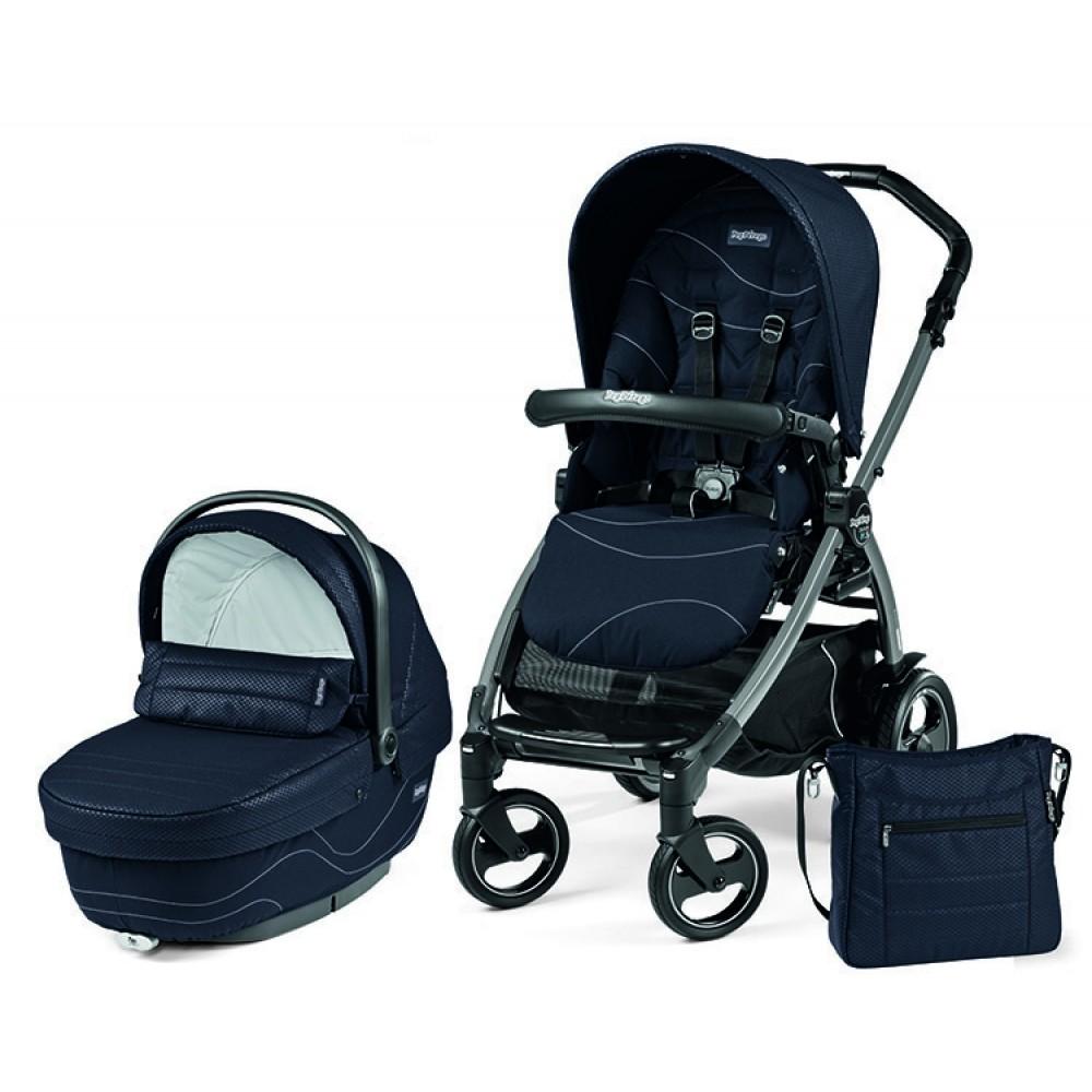 Детская коляска Peg-Perego Book 51 S XL Modular 2 в 1 (Синий)