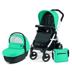 Детская коляска Peg-Perego Book 51 S XL Modular 2 в 1 (Бирюзовый/черный)