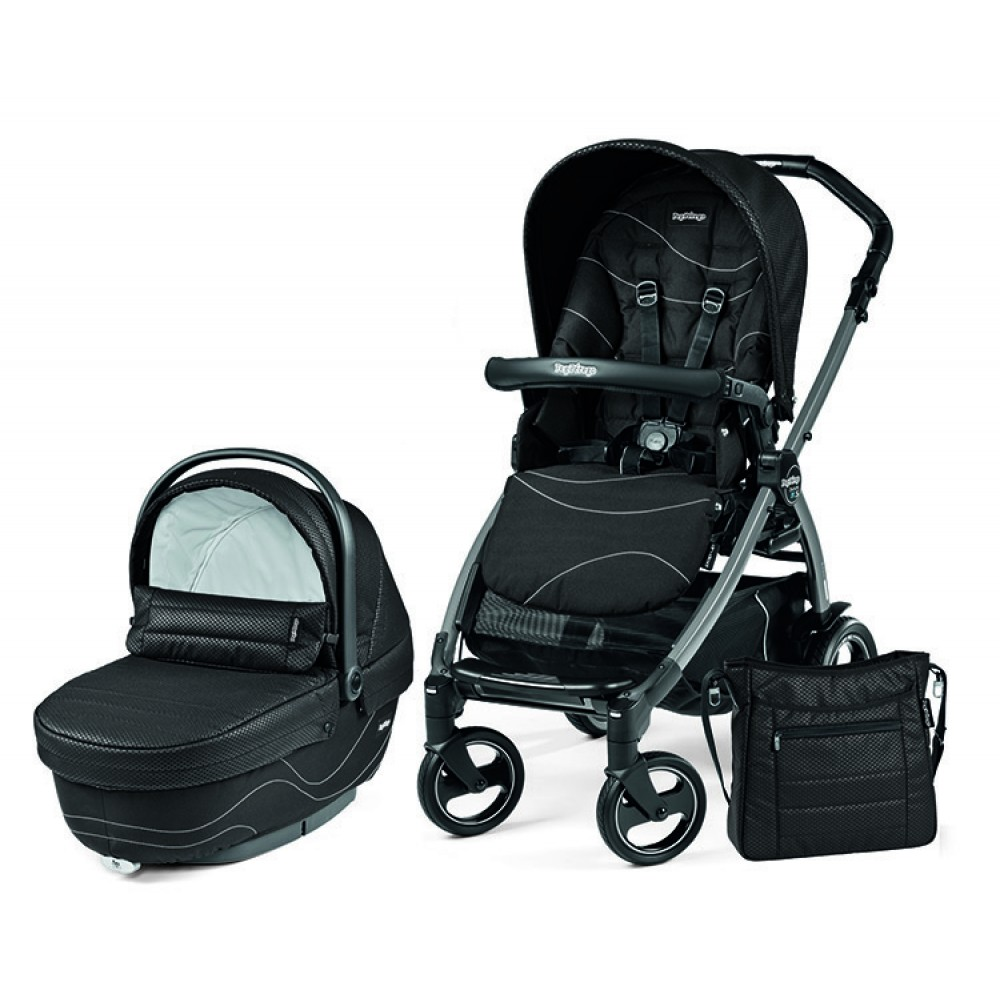 Детская коляска Peg-Perego Book 51 S XL Modular 3 в 1 (Черный)